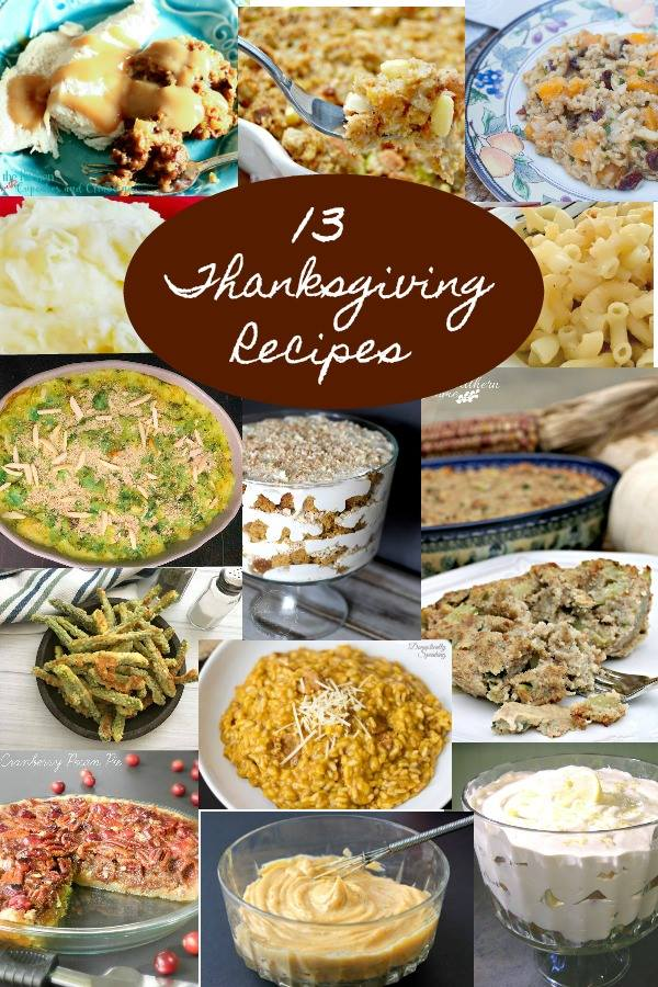 Get help planning your Thanksgiving menu with 13 favorite Thanksgiving recipes from The Cooking Housewives. #thanksgiving #recipes #thanksgivingrecipes #thanksgivingfood