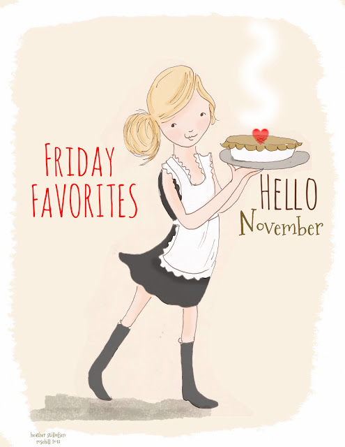 Friday Favorites...Hello November - Best of the Weekend Feature for November 9, 2018