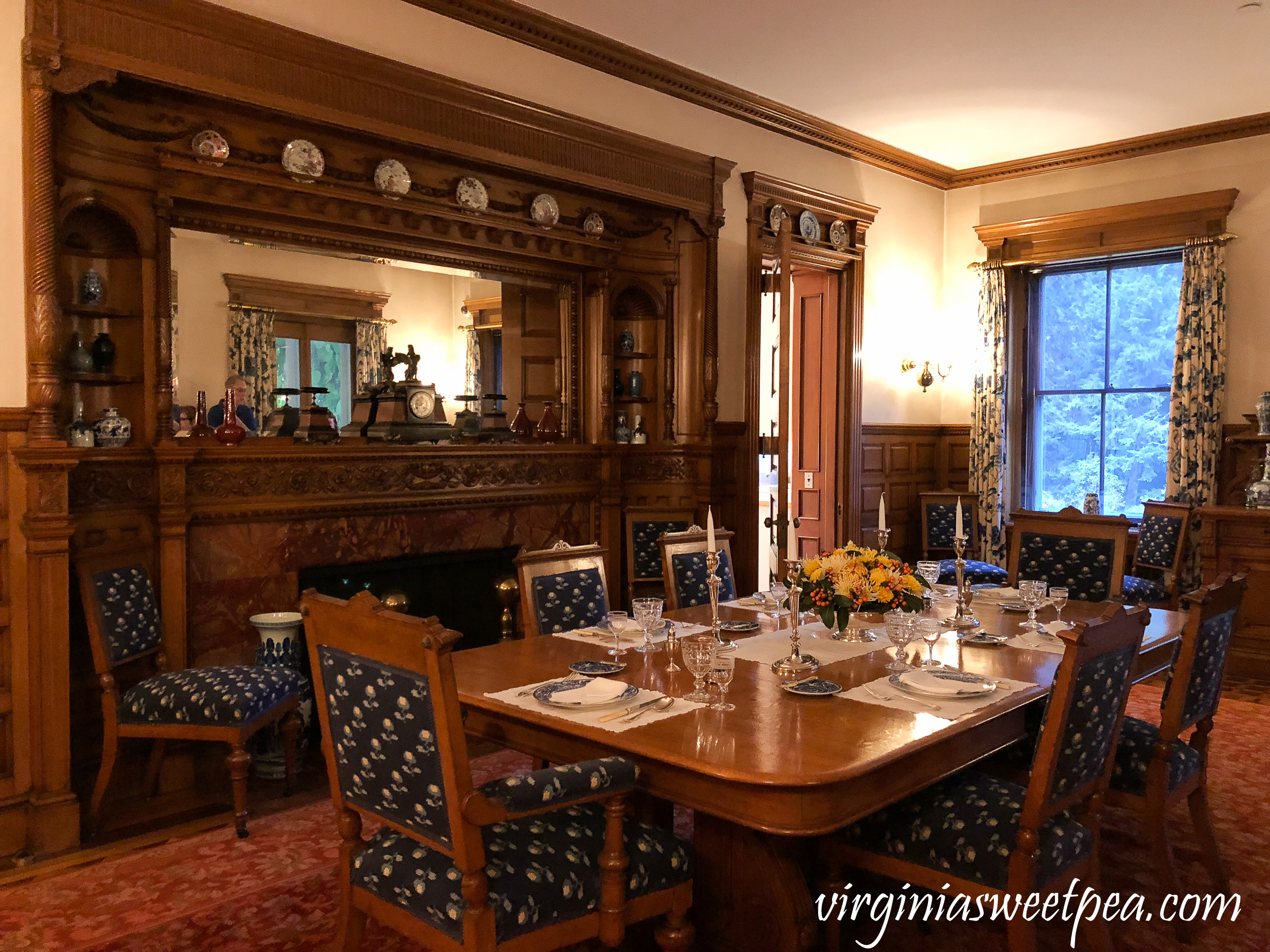 Touring the Marsh-Billings-Rockefeller Mansion in Woodstock, Vermont #vermont #travel #woodstockvermont