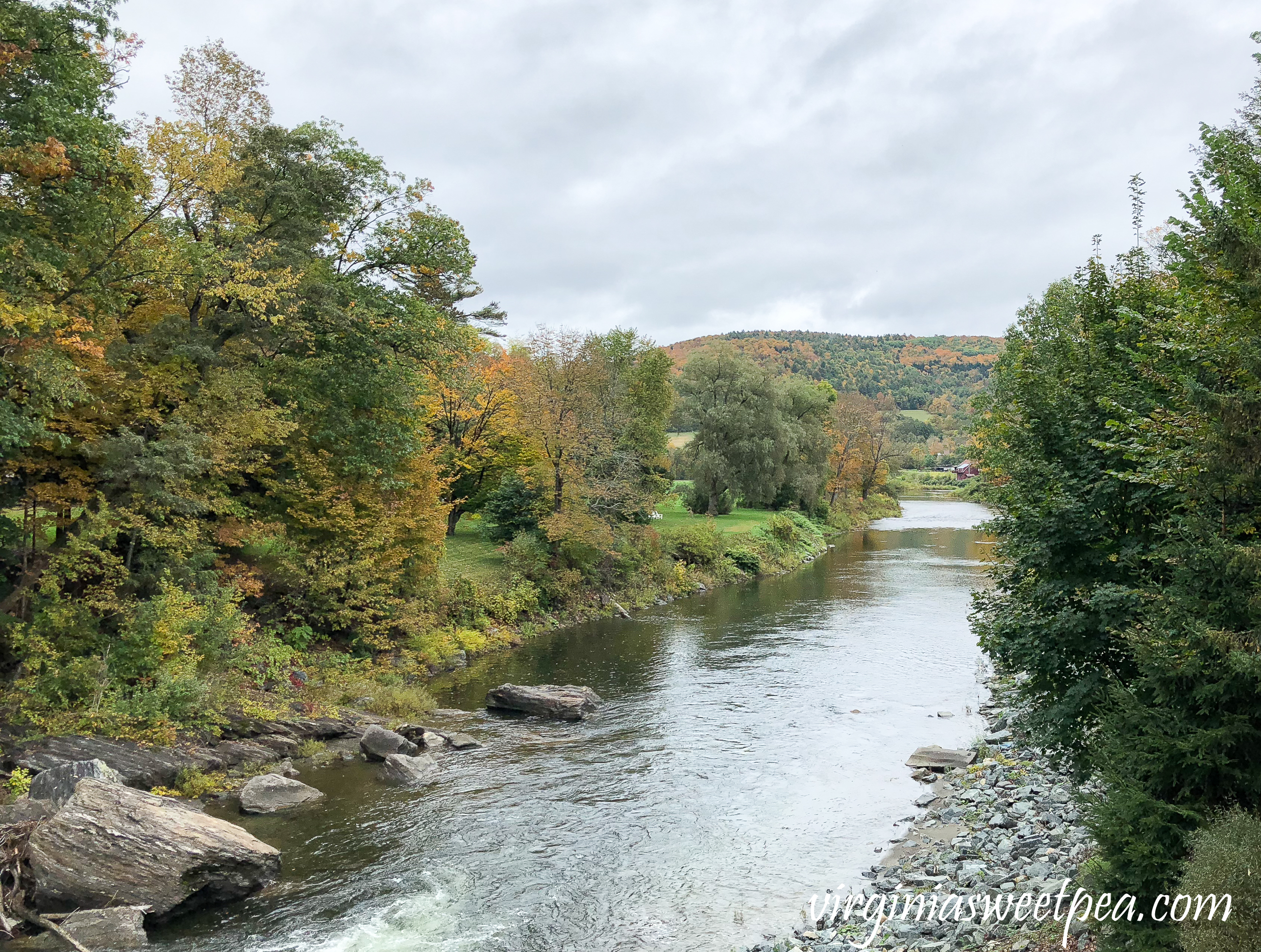Fall in Woodstock, Vermont #fall #vermont #vermontinfall