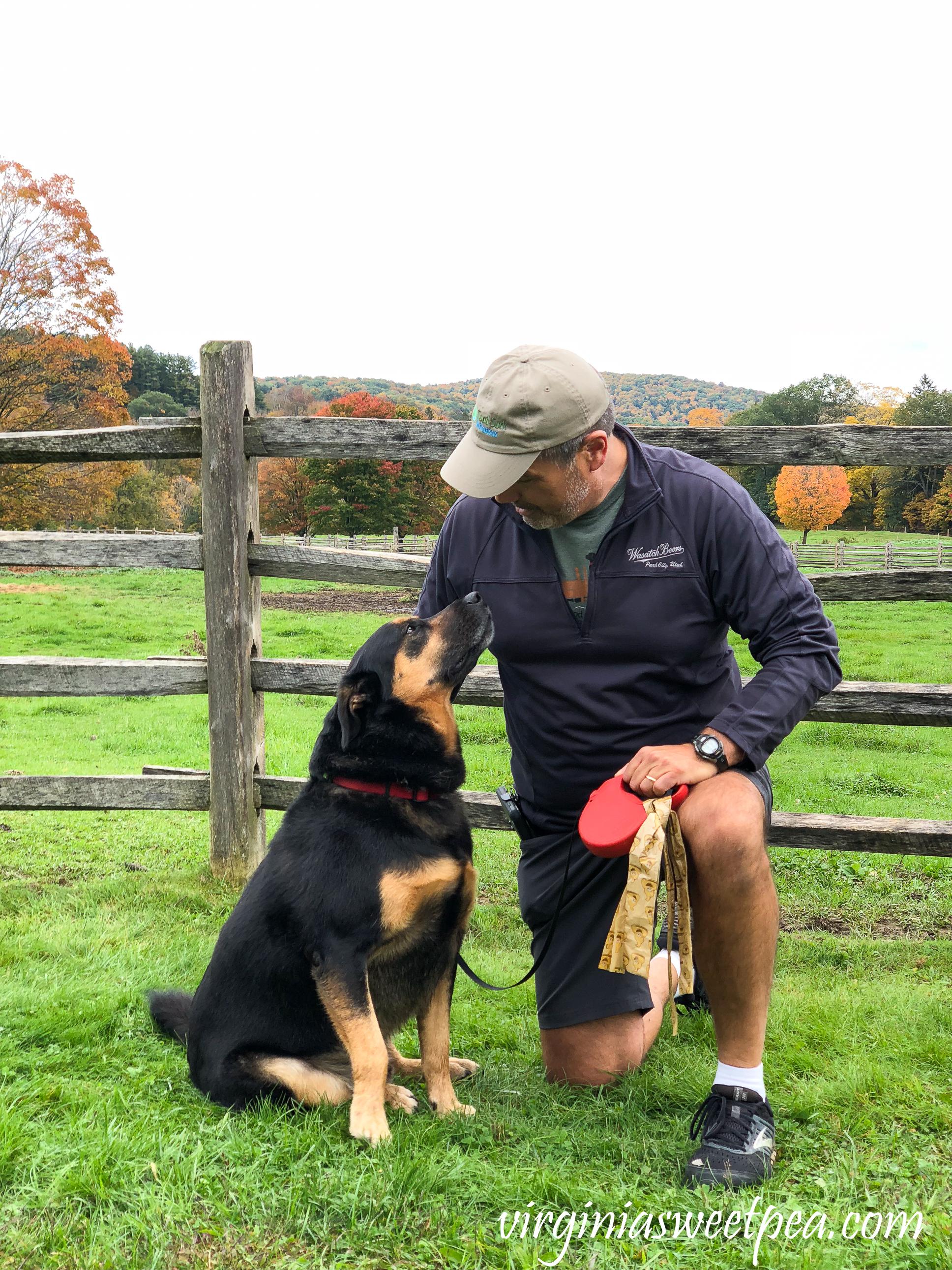 Sherman Skulina enjoying Vermont in Fall #shermanskulina #vermont #vermontfall