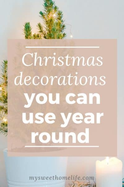 Christmas Decorations You Can Use Year-Round - Best of the Weekend Feature for November 30, 2018