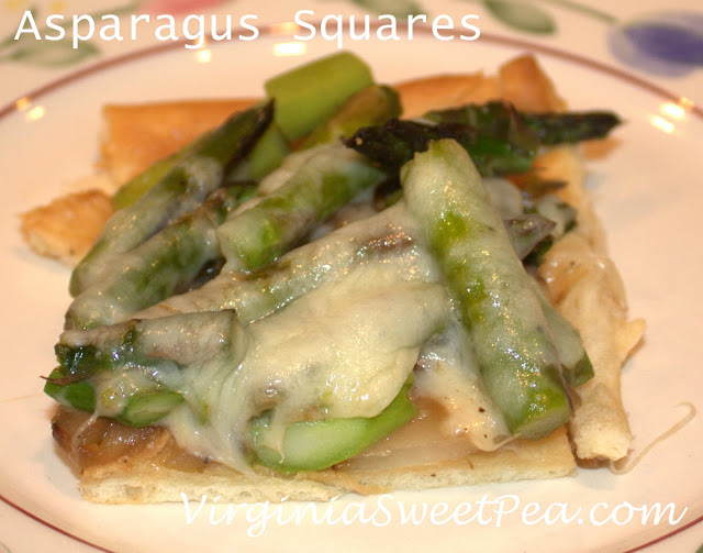 Asparagus Squares :: Quick and Easy!