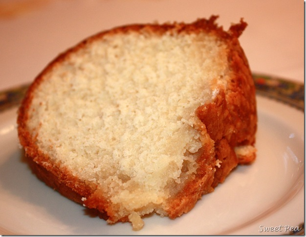 Best Pound Cake You'll Ever Eat
