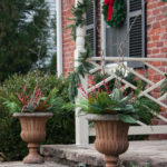 Christmas Front Porch and Holiday Door Decor