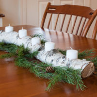 DIY Yule Log