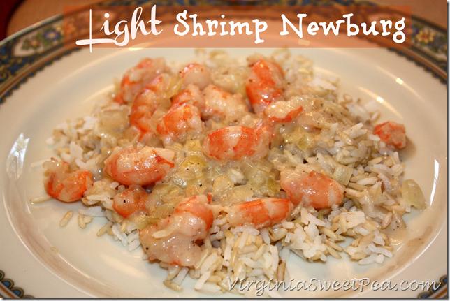 Light Shrimp Newburg