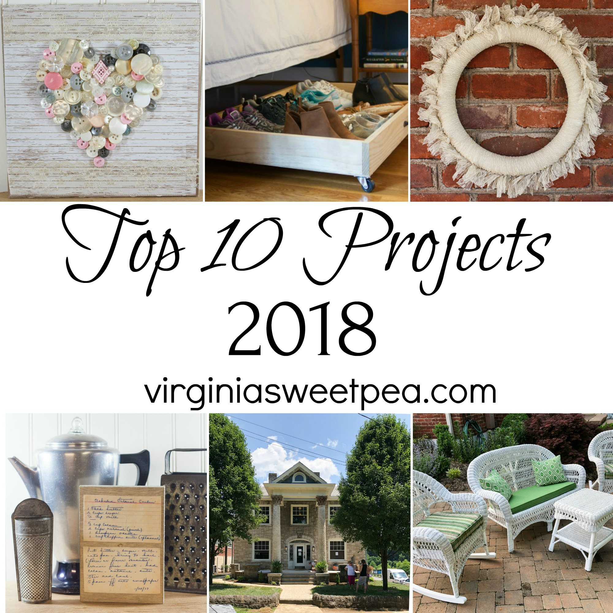 Top 10 Projects for 2018
