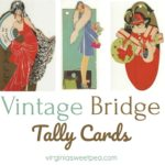 Vintage Bridge Tally Cards