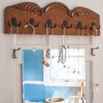 Upcycled Wood Jewelry Organizer