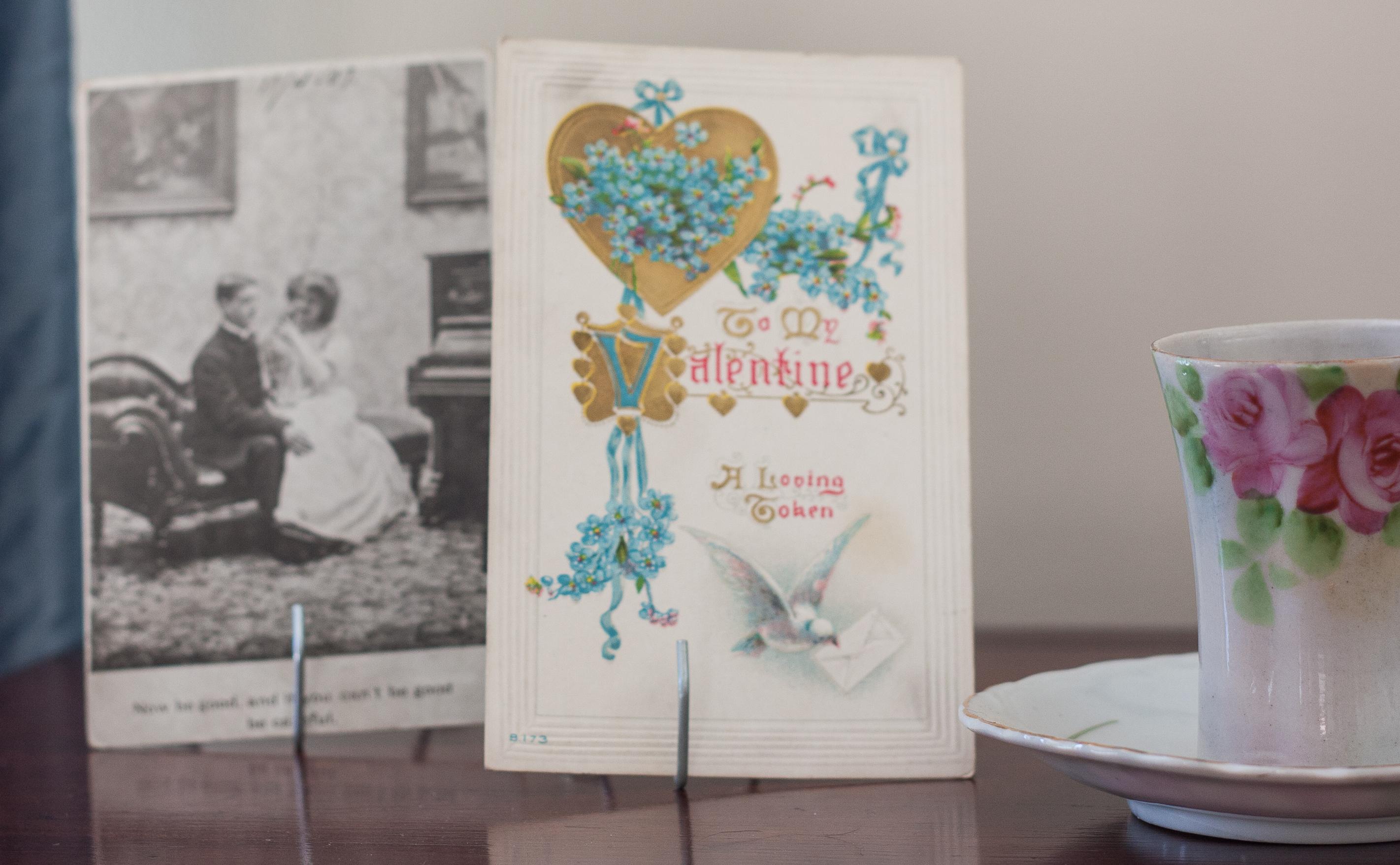 Vintage Valentine's Day Postcards #vintage #vintagepostcards #vintagevalentinesdaypostcards