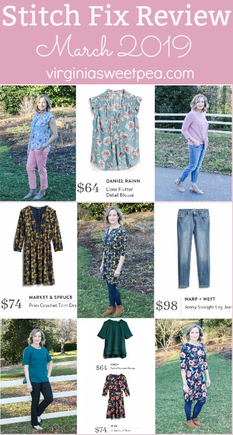 Stitch Fix Review for March 2019 - Styles perfect for transitioning from winter to spring. #stitchfix #stitchfixreview #stitchfix2019 #springstitchfix #stitchfixspring