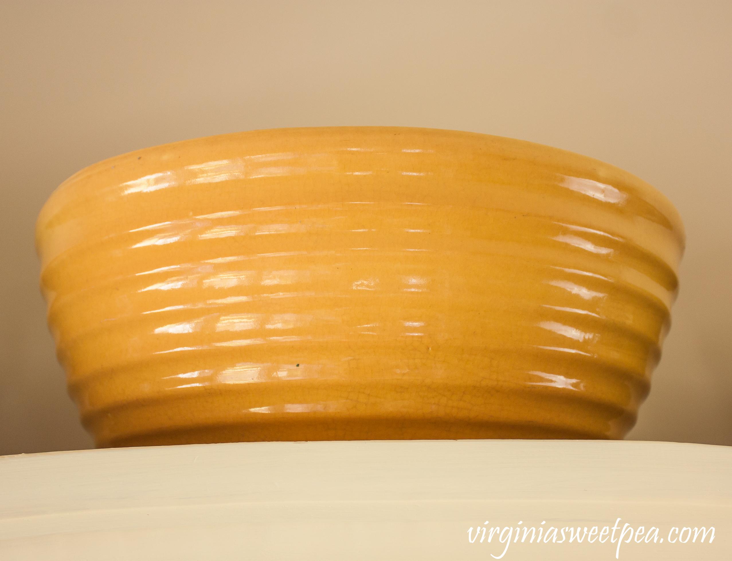 York P 1930's Pfaltzgraff Mixing Bowl  #antiquemixingbowl #YorkPmixingbowl #antiquepfaltzgraff