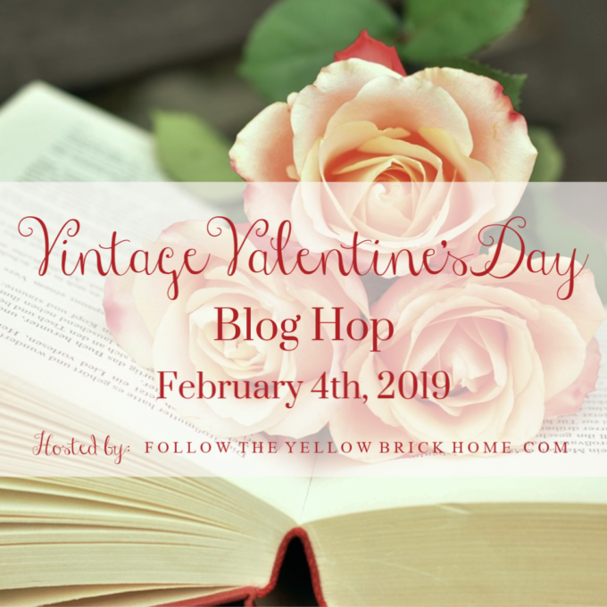 Tour 21 homes decorated for Valentine's Day using vintage.