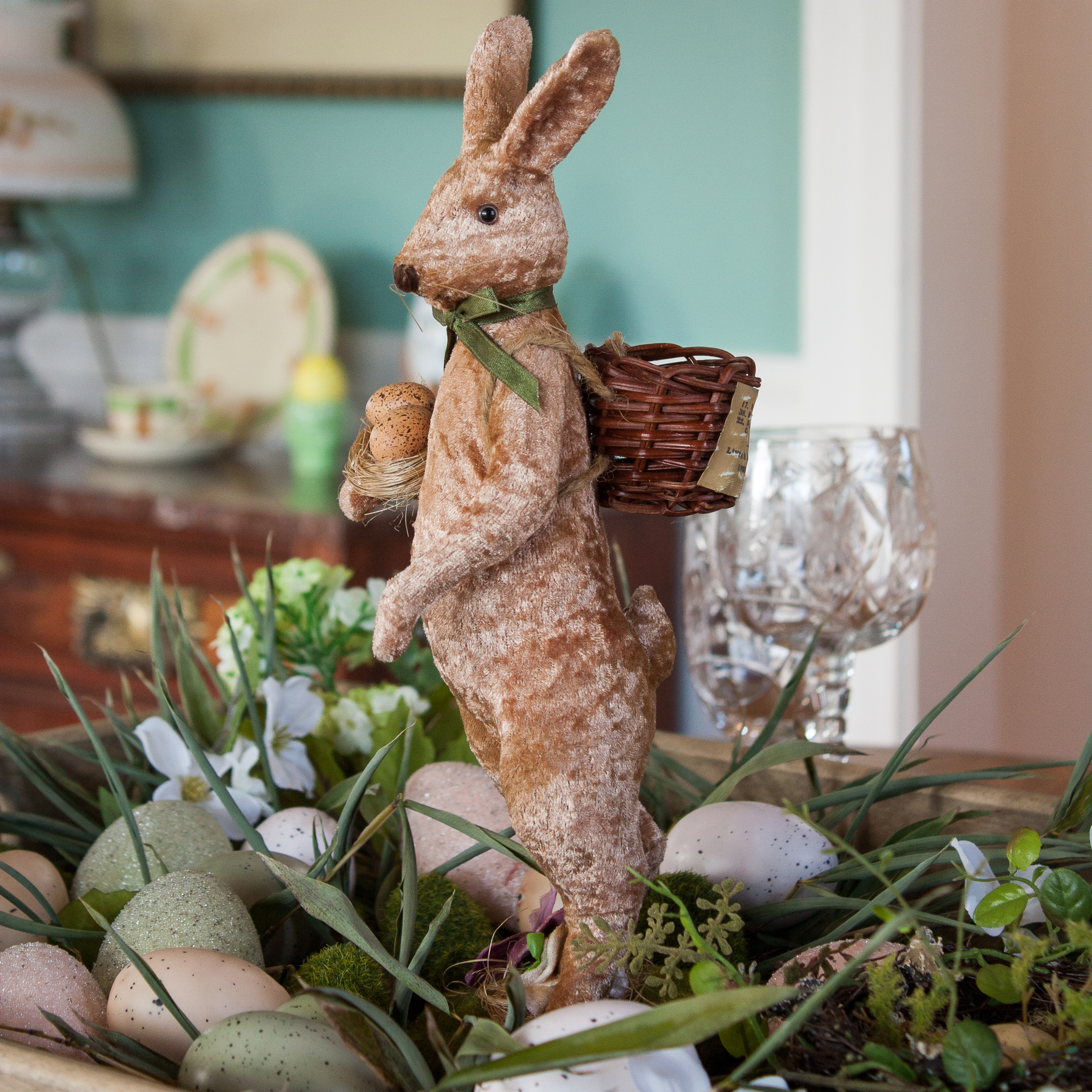 Farmhouse Style Easter Centerpiece