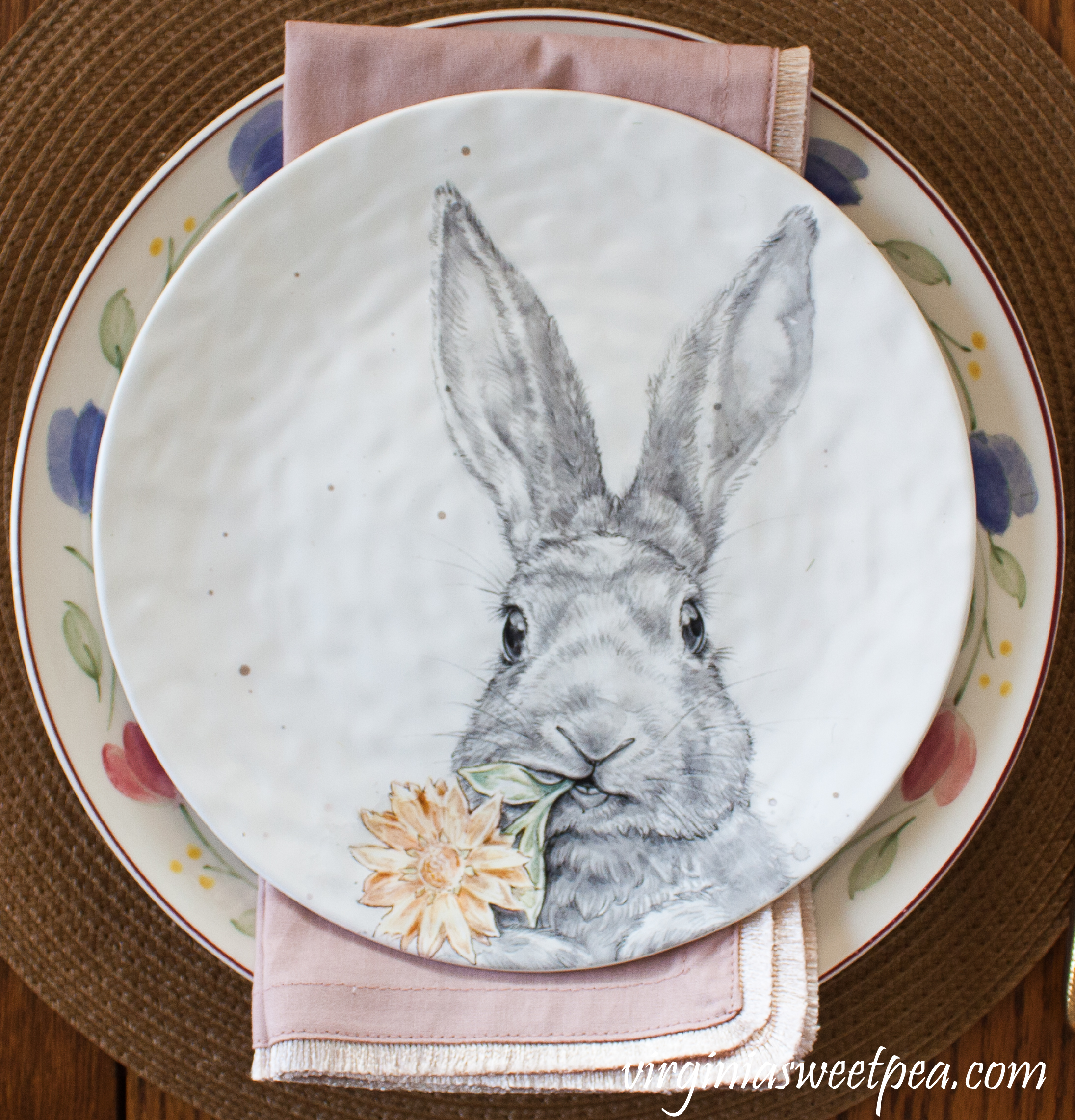 Pier1 Rabbit Salad Plates