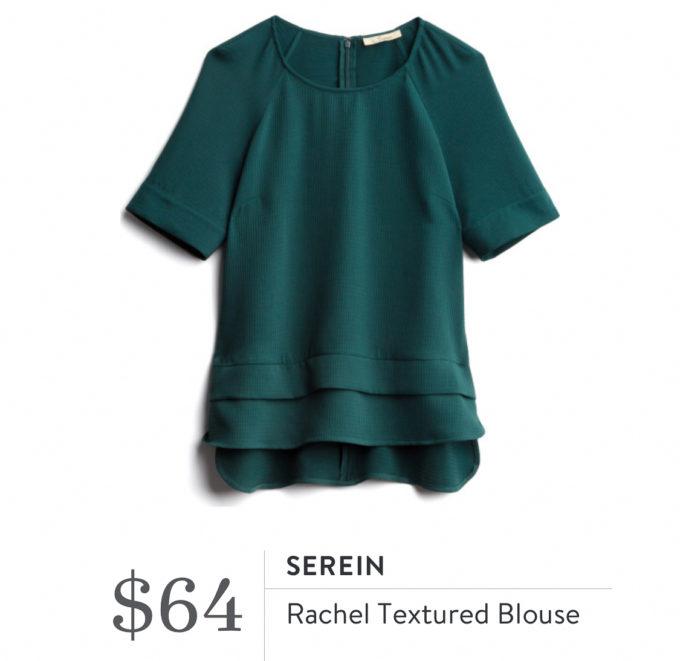 Serein Rachel Textured Blouse