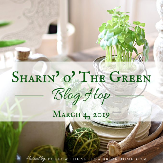 Get inspired to decorate for spring with green! Get ideas for incorporating green into your spring decor.
