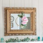 DIY Spring Embroidery Hoop Wreath