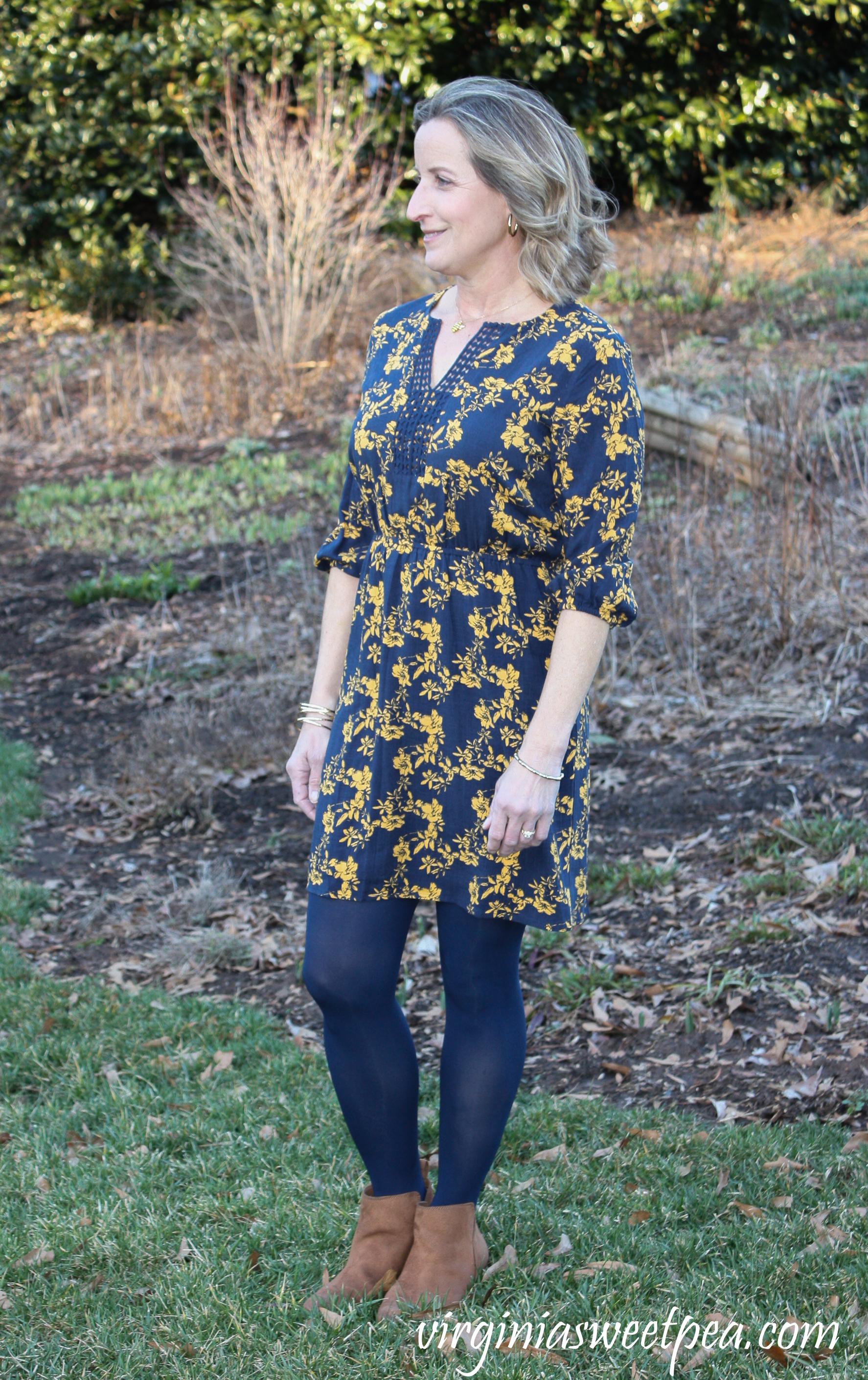 Stitch Fix Review for March 2019 - Market & Spruce Prim Crochet Trim Dress #stitchfix #stitchfixreview #stitchfix2019 #stitchfixspring #stitchfixdress #shermanskulina