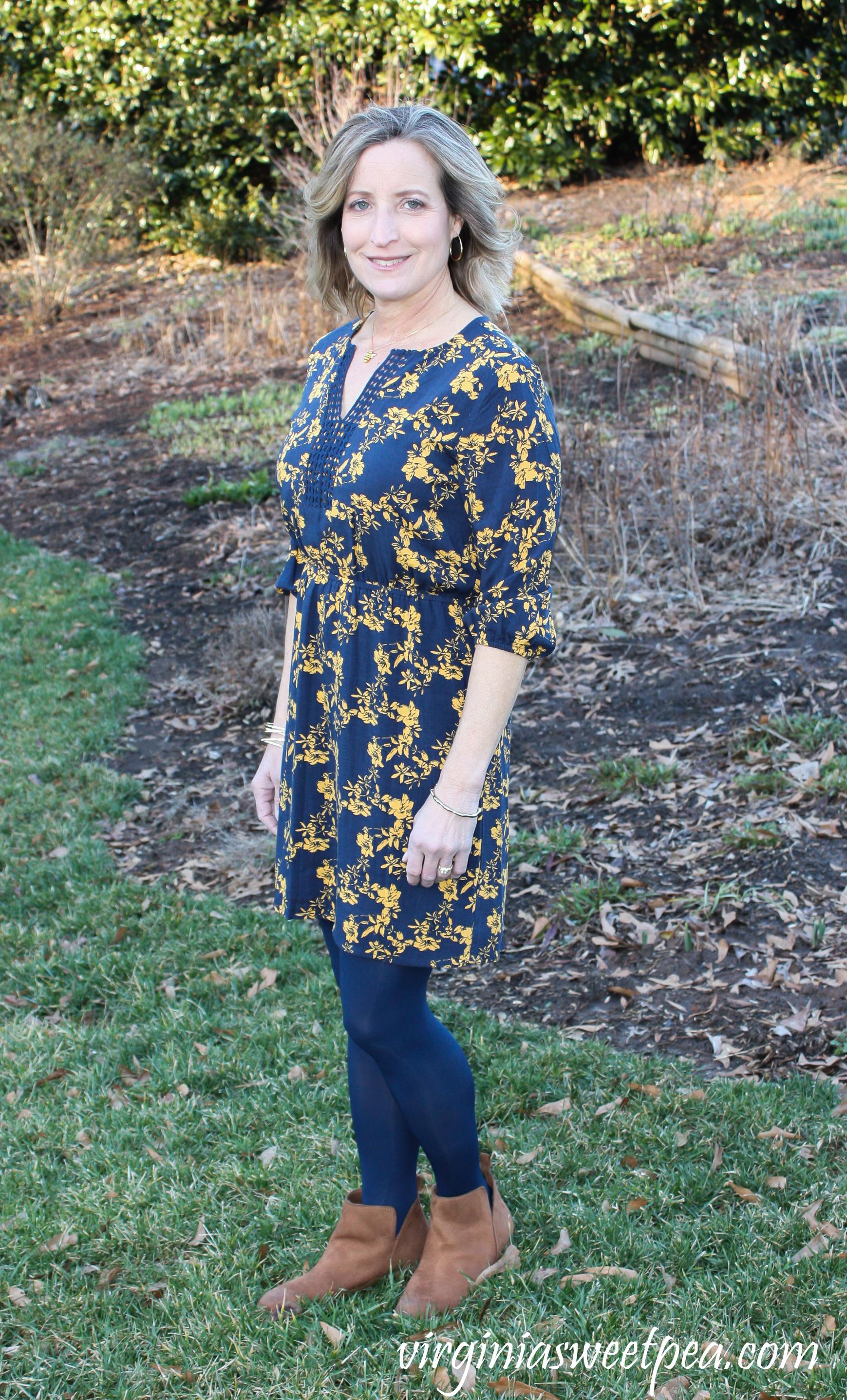 Stitch Fix Review for March 2019 - Market & Spruce Prim Crochet Trim Dress #stitchfix #stitchfixreview #stitchfix2019 #stitchfixspring #stitchfixdress