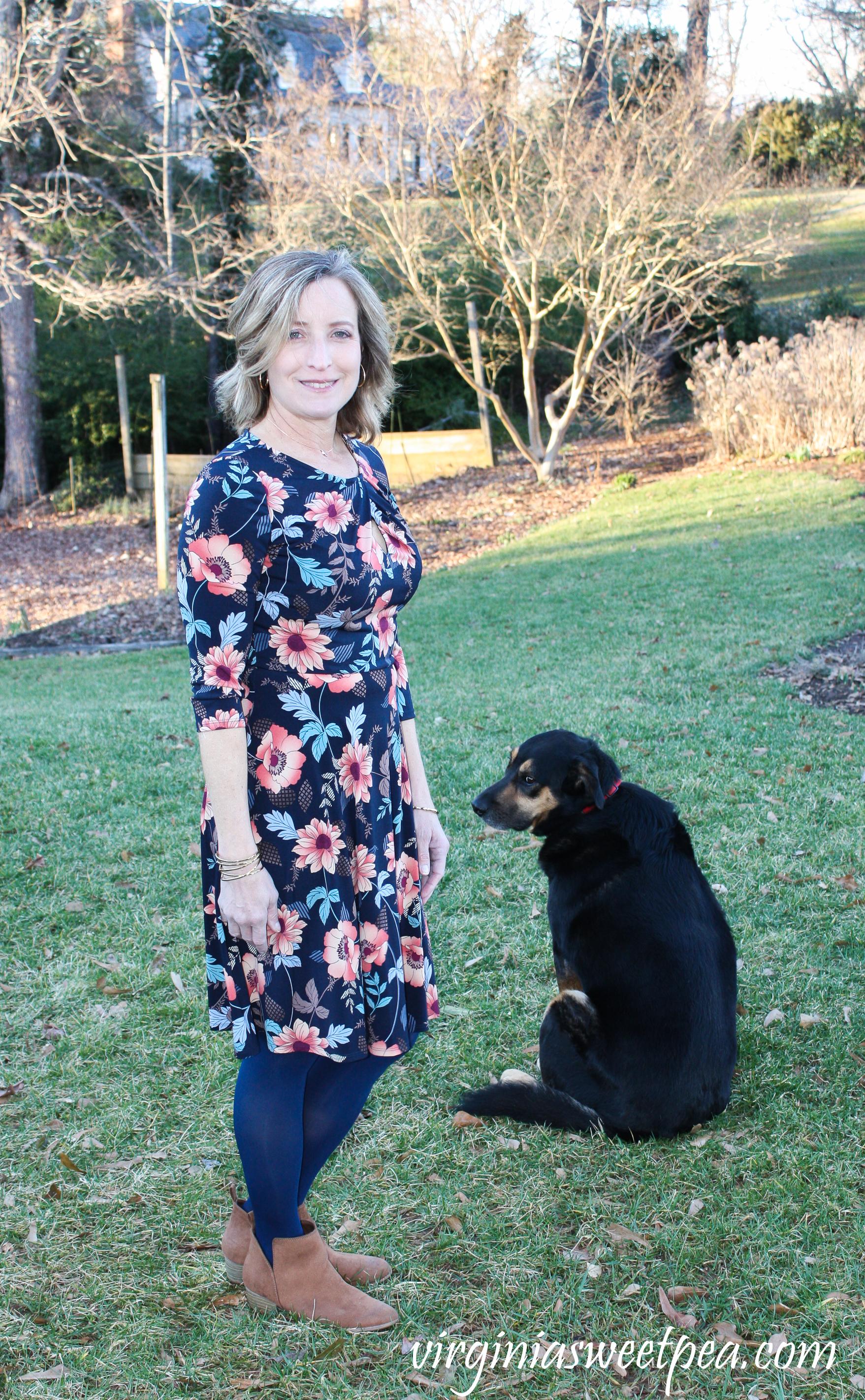Stitch Fix Review for March 2019 - Wisp Kellen Knit Dress #stitchfix #stitchfixreview #stitchfix2019 #springstitchfix #stitchfixspring #stitchfixdress #shermanskulina
