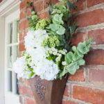 DIY Hanging Floral Display for Spring
