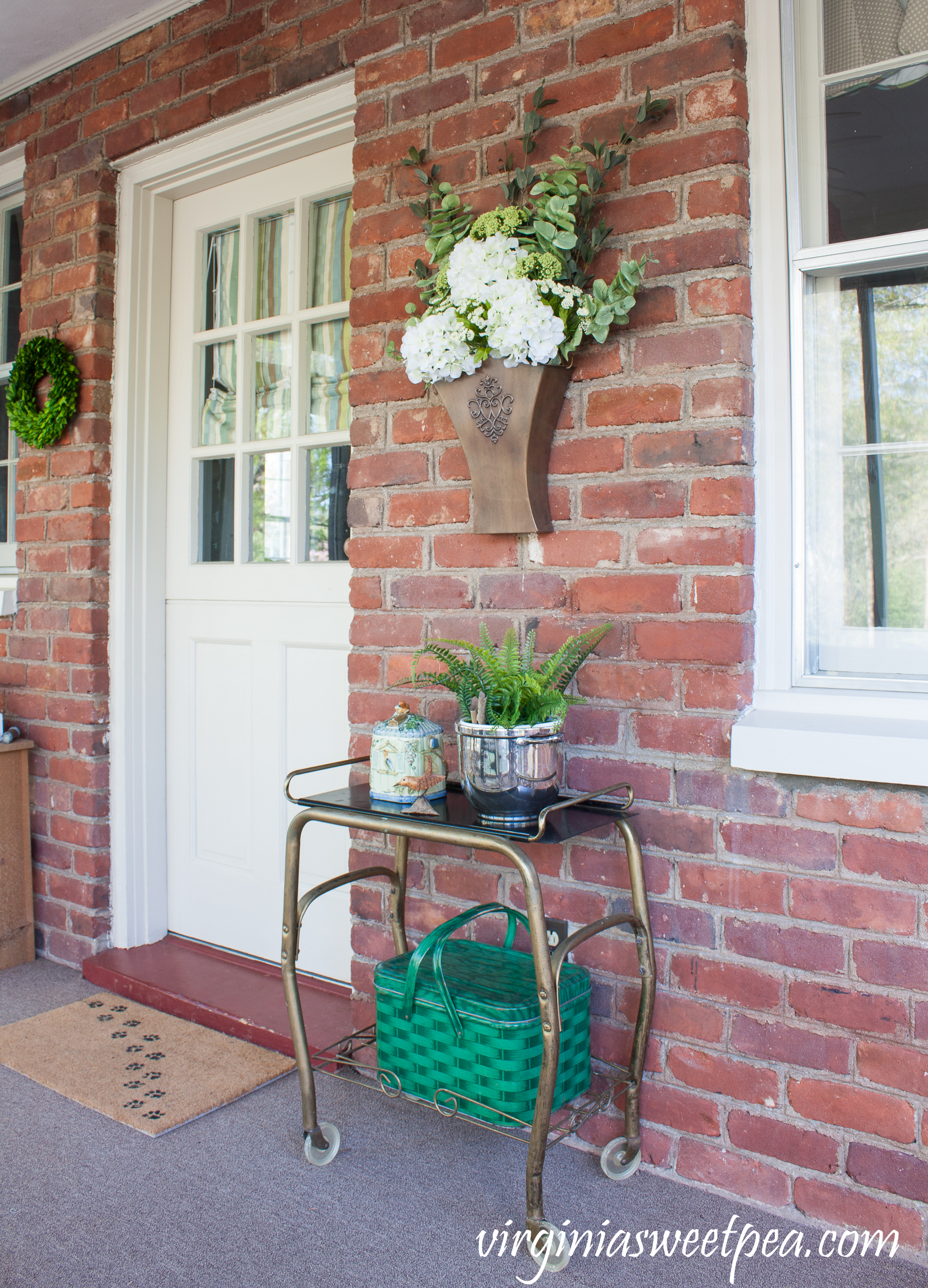 Spring Porch Decor
