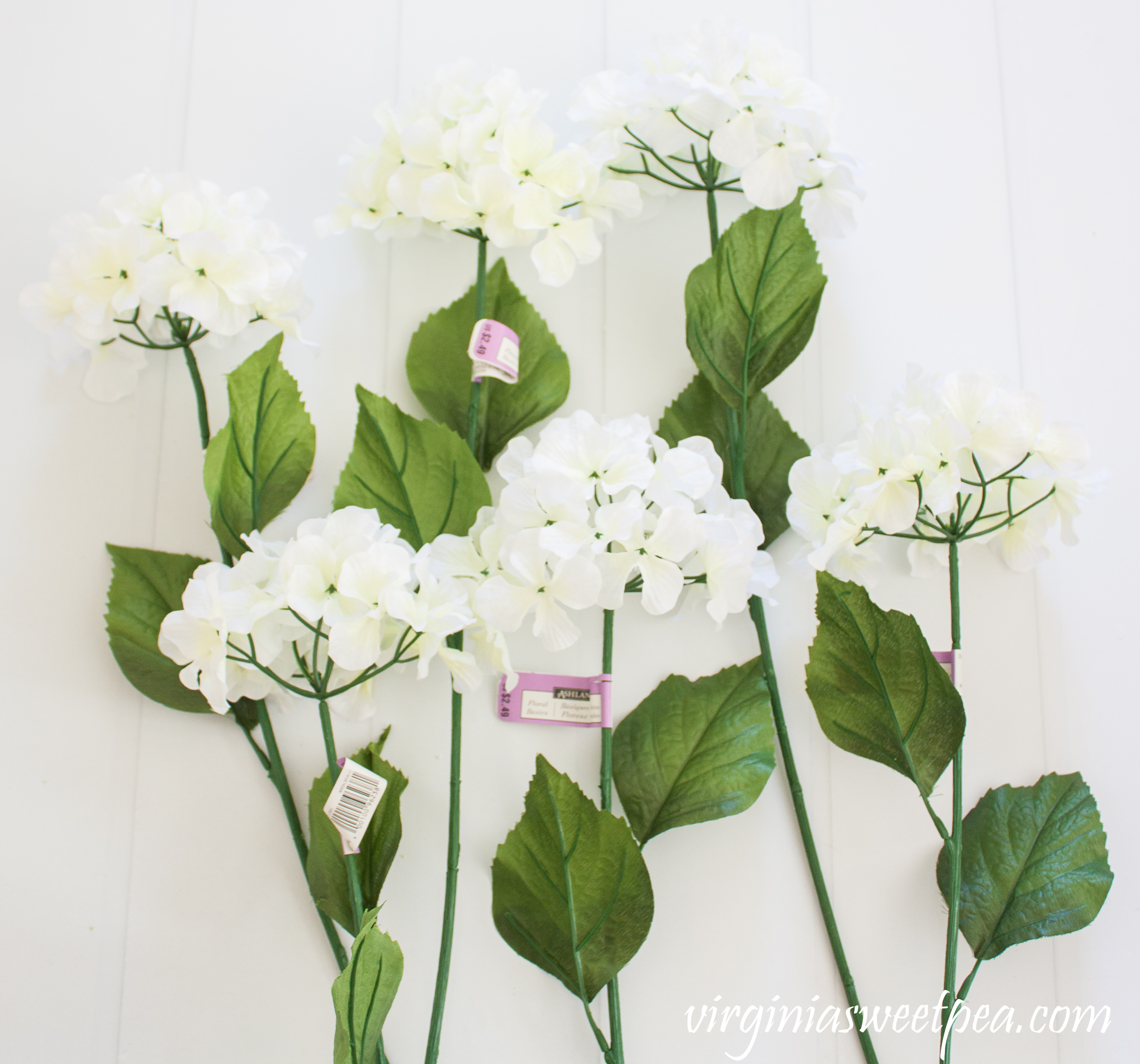 How to Make Faux Hydrangeas look more full