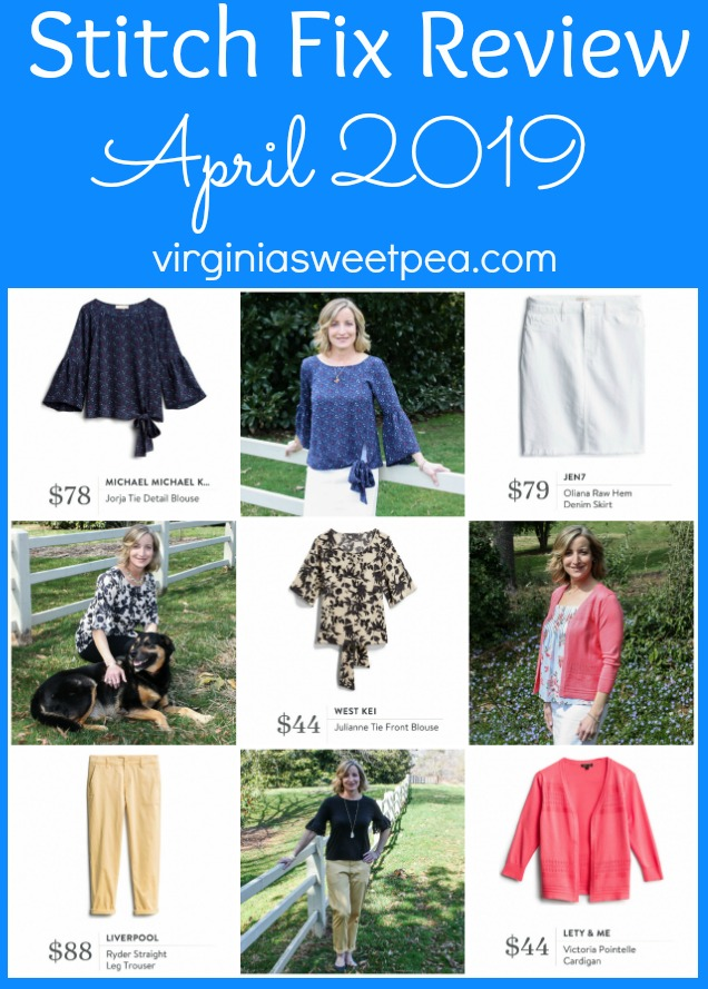 Stitch Fix Review for April 2019 - See styles perfect to wear for spring!  #stitchfix #stitchfixreview #stitchfixspring #springstitchfix via @spaula