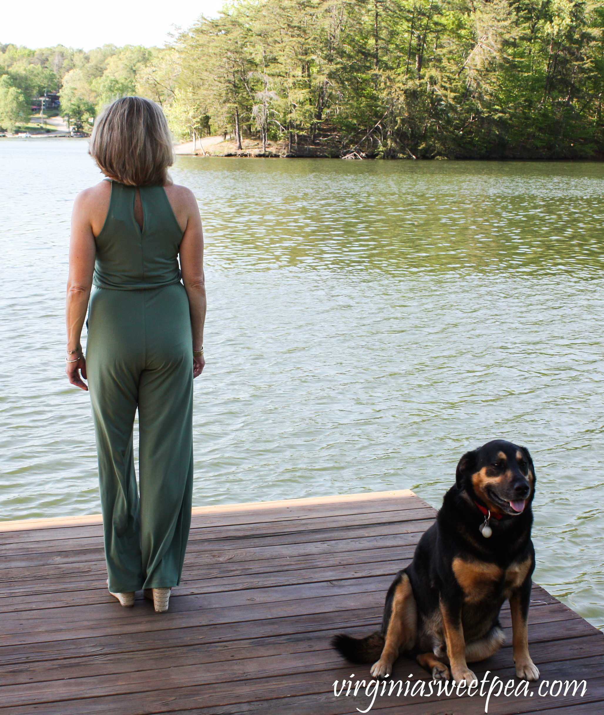Stitch Fix Review for May 2019 - Goldray Lowrey Knit Jumpsuit #stitchfix #stitchfixreview #stitchfixsummer #shermanskulina