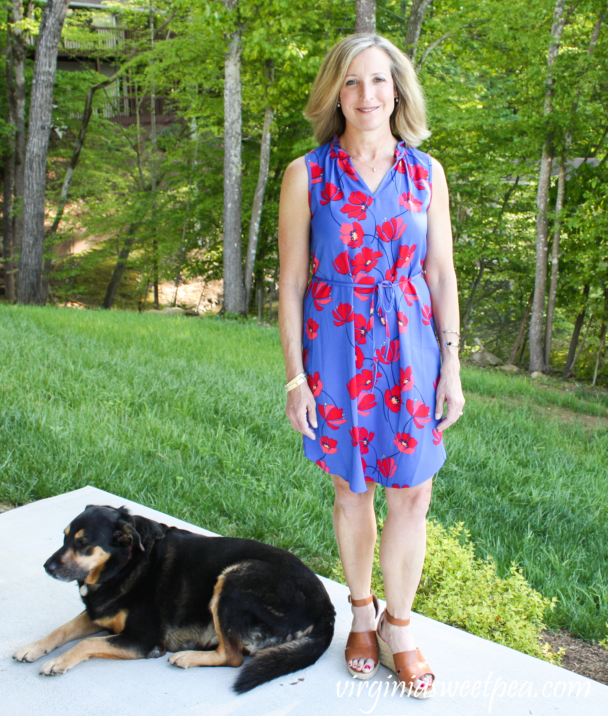 Stitch Fix Review for May 2019 - Market & Spruce Jeanie Ruffle Detail Dress #stitchfix #stitchfixreview #stitchfixdress #stitchfixsummer #shermanskulina