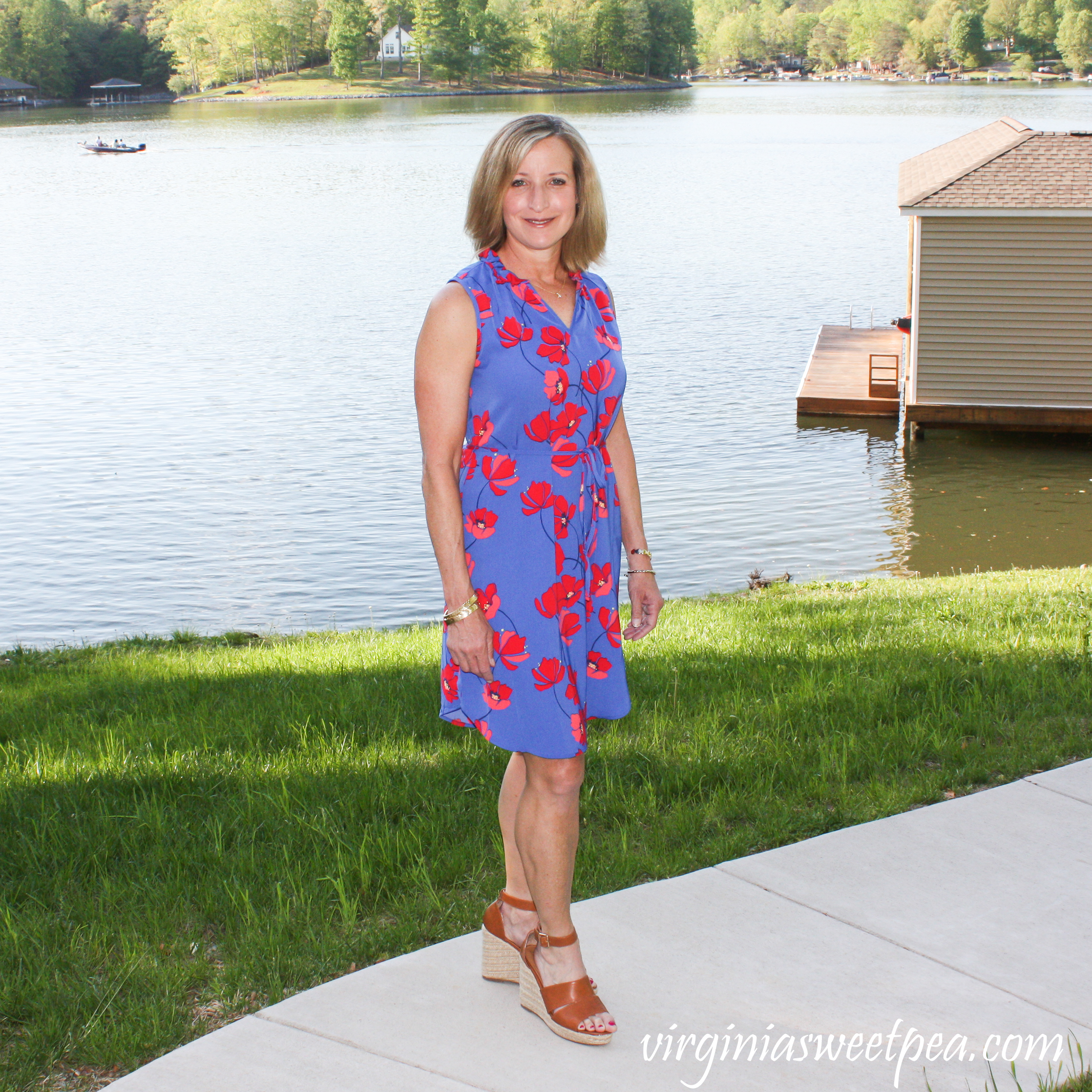 Stitch Fix Review for May 2019 - Market & Spruce Jeanie Ruffle Detail Dress #stitchfix #stitchfixreview #stitchfixdress #stitchfixsummer