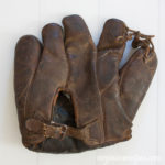 Investigating Vintage Baseball Gloves