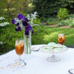 Spring Tea in the Garden with Vintage