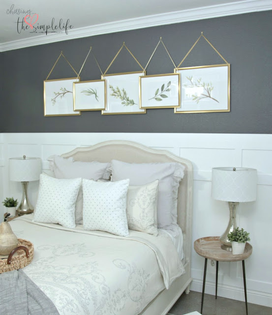 Master bedroom makeover reveal for the One Room Challenge