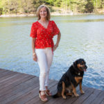 Stitch Fix Review for May 2019 - ASTR Tawnia Surplice Blouse