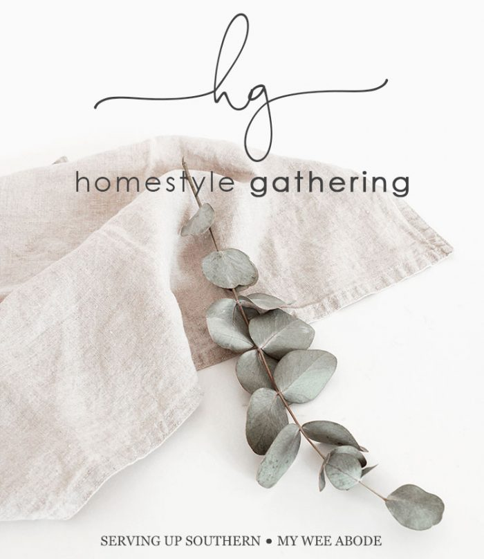 Get inspired with projects shared at Homestyle Gathering.  See a master bedroom makeover, Texas Bluebonnets, DIY garden trellis, elegant farmhouse kitchen, and tips for planting container gardens. via @spaula