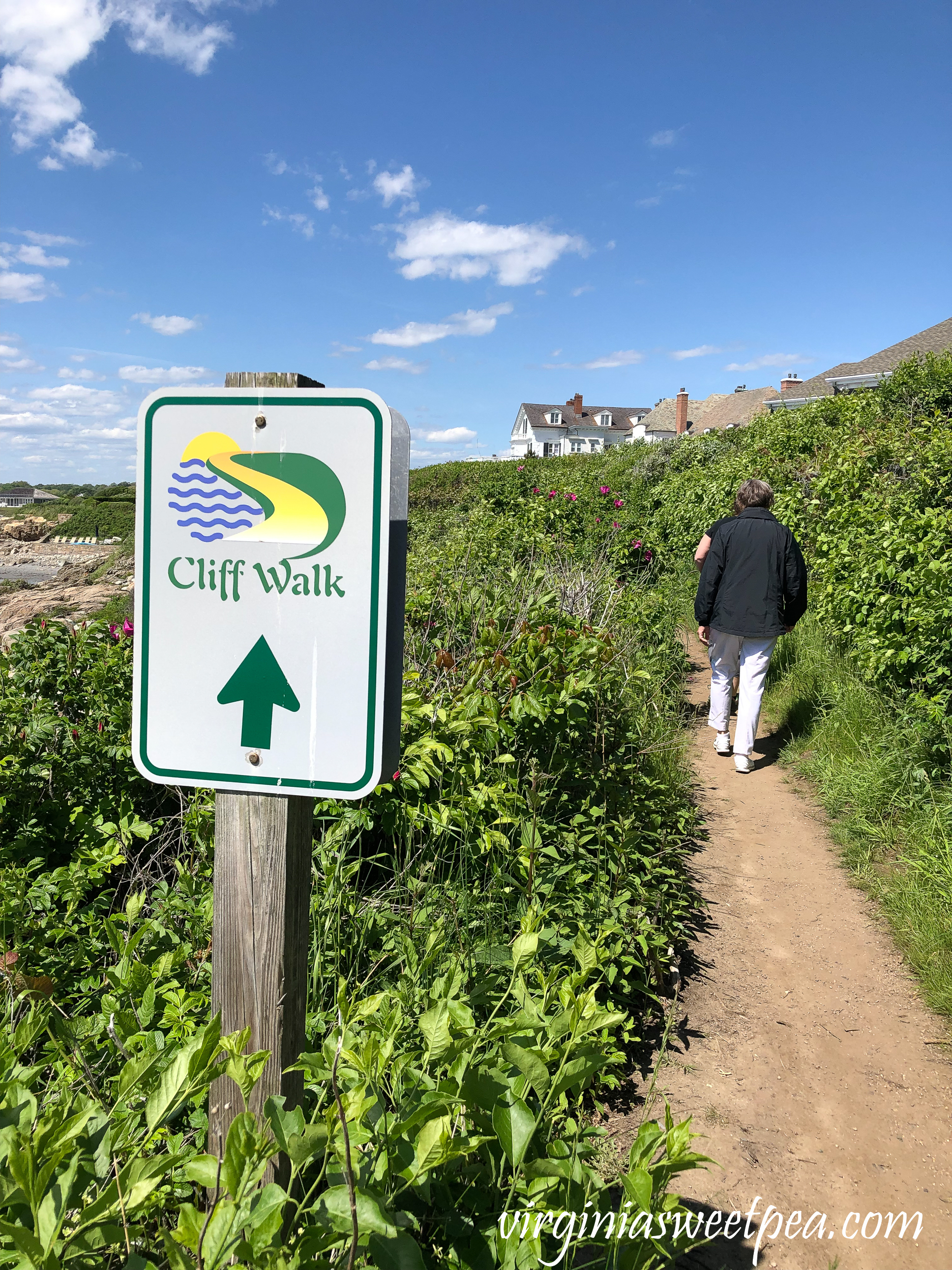 Cliff Walk in Newport, RI