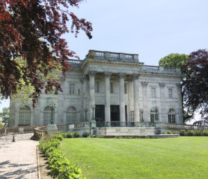 Marble House in Newport Rhode Island-