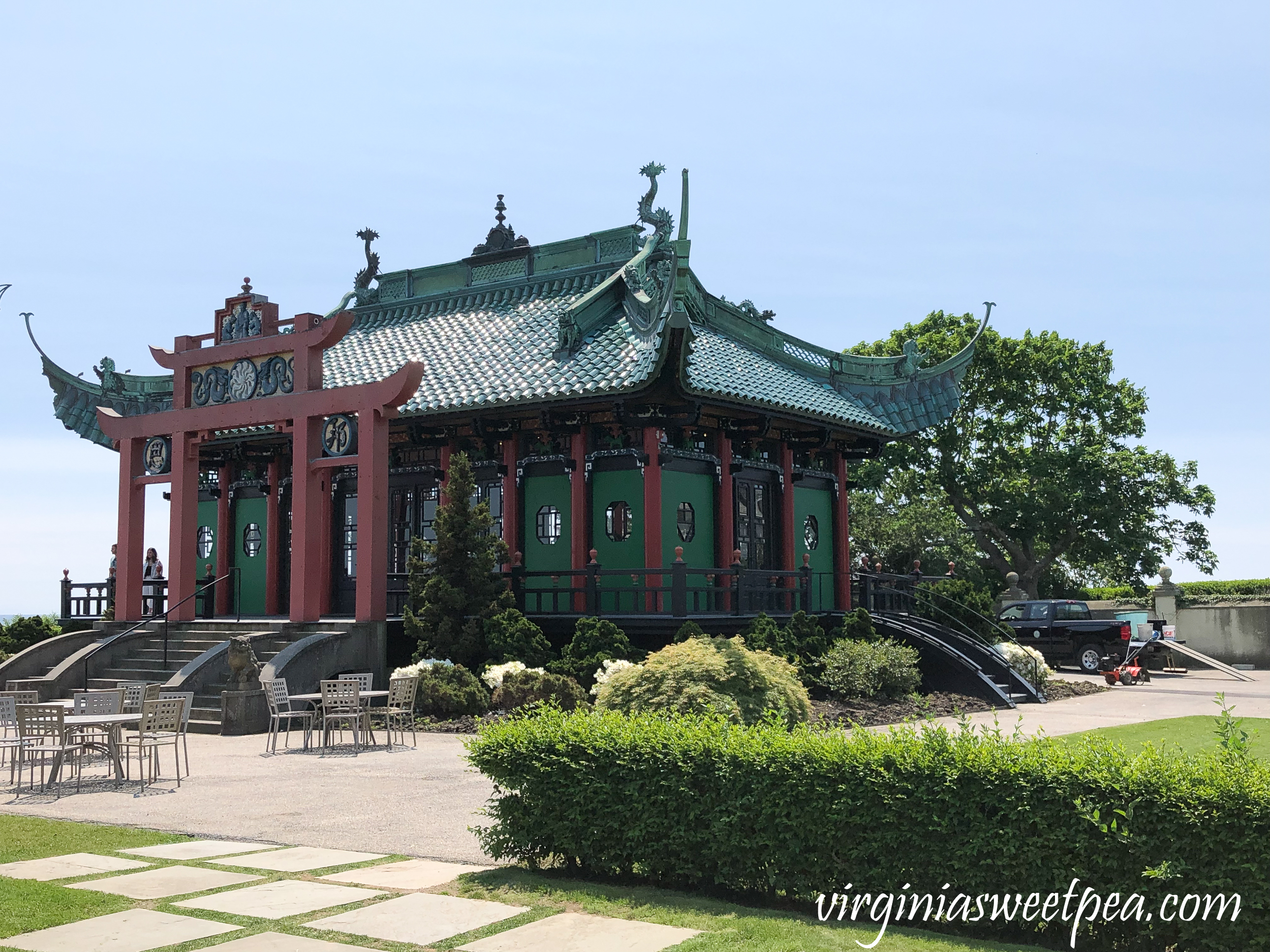 Chinese Tea House at Marble House