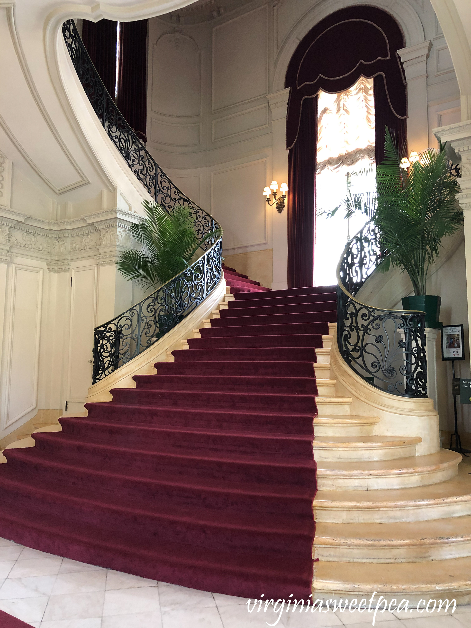 Grand Staircase at Rosecliff