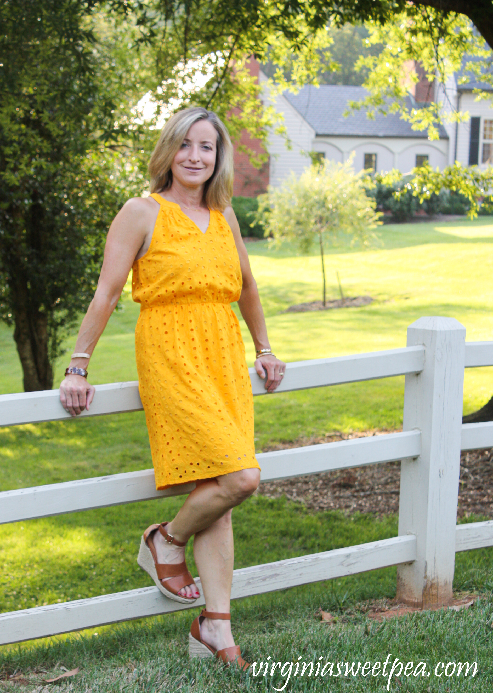 Stitch Fix Market & Spruce Brea Eyelet Dress