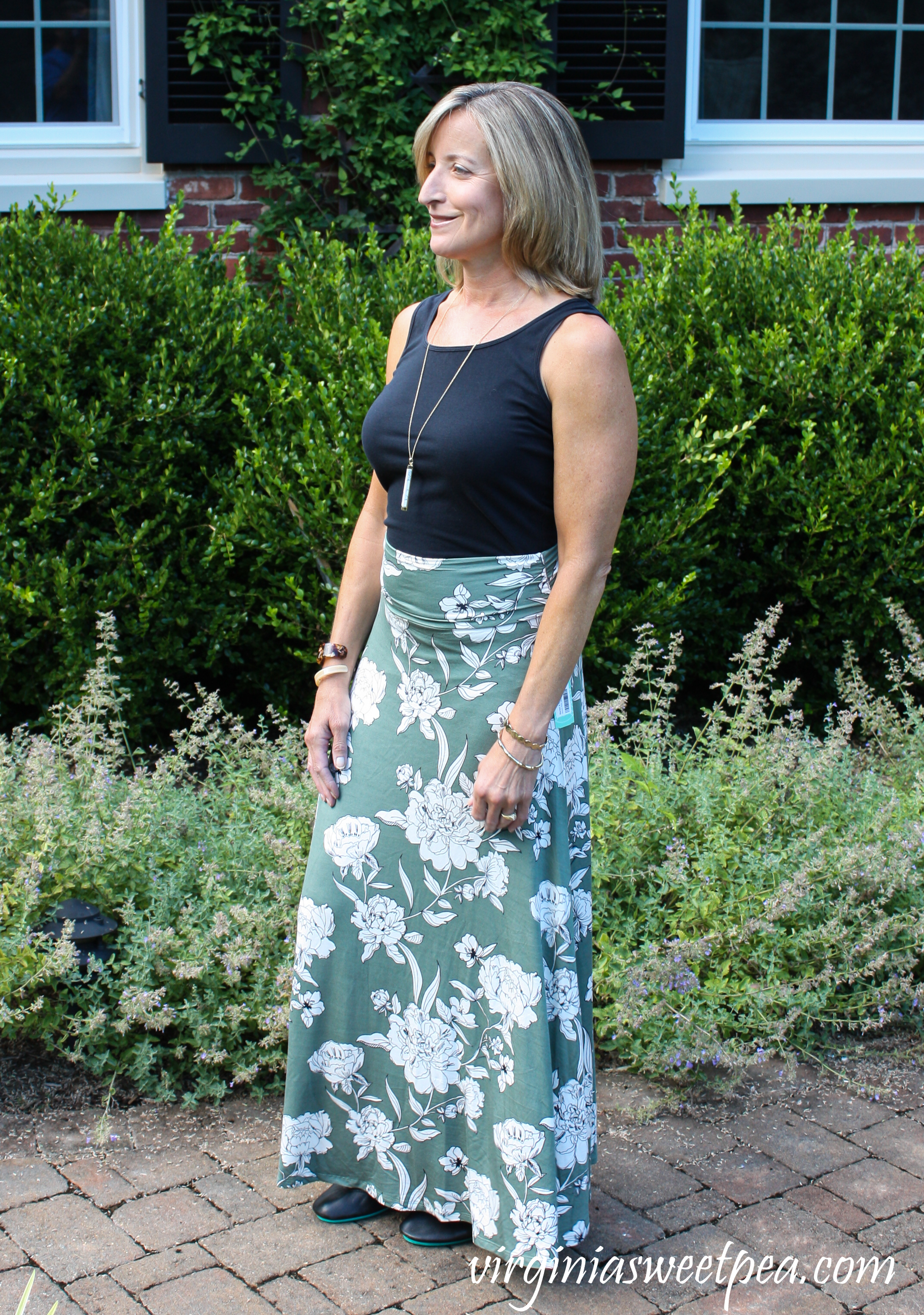 Stitch Fix Market & Spruce Joven Knit Maxi Skirt