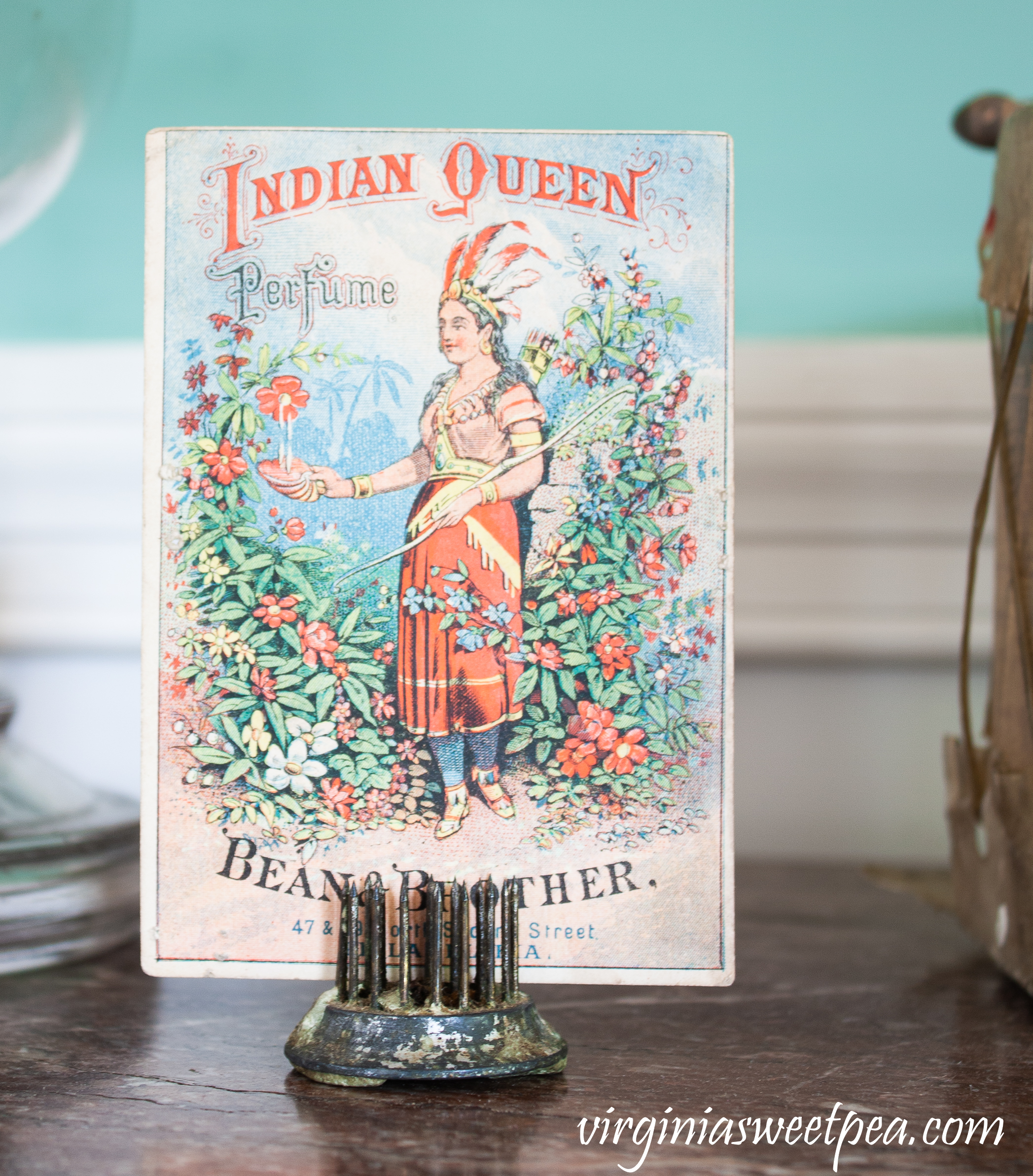Bean & Brother Indian Queen Perfume Ad