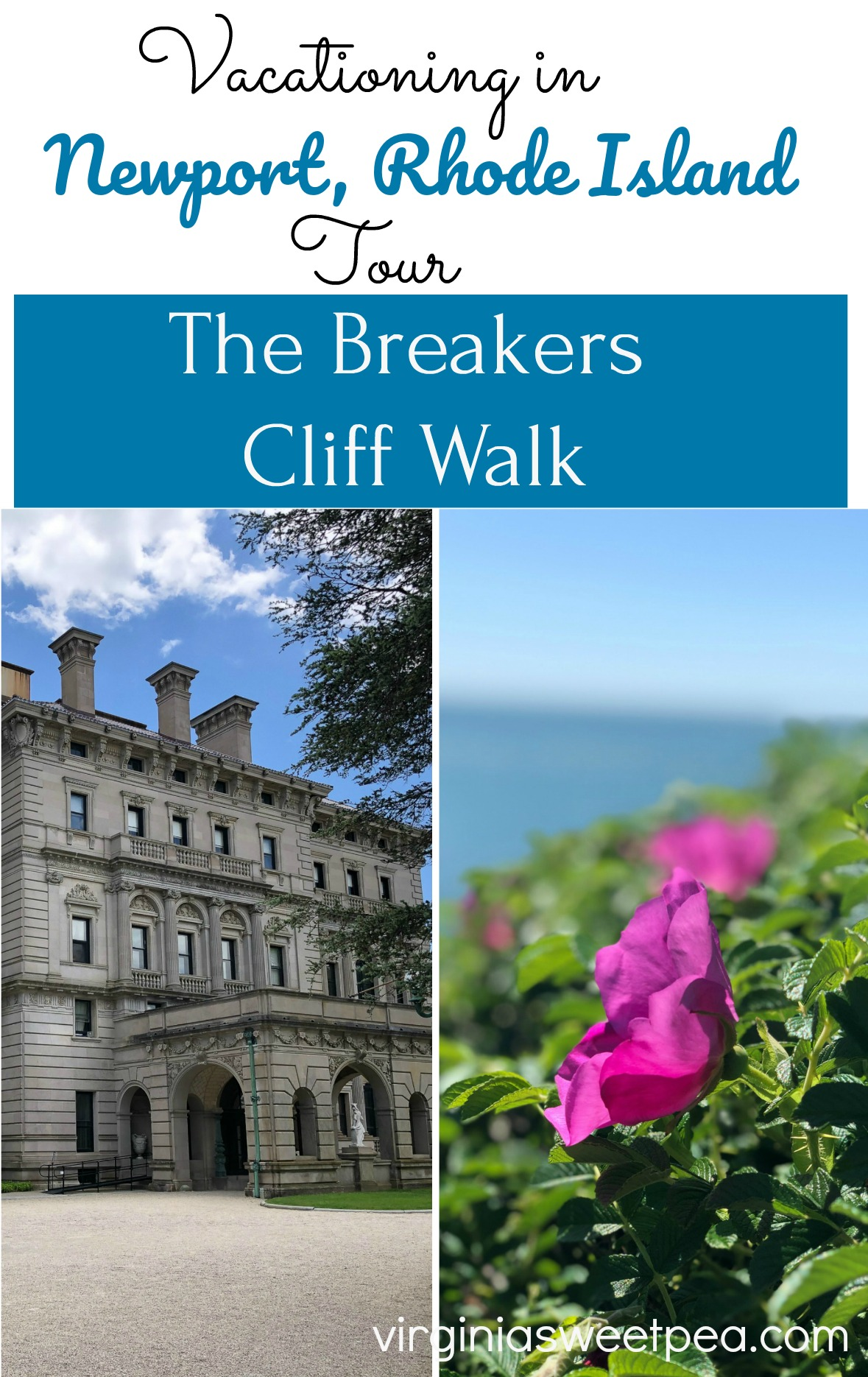 Vacationing in Newport, Rhode Island:  Take a tour of The Breakers and see scenery on the Cliff Walk, a 3.5 mile trail along Newport's coastline that meanders behind many of Newport's mansions.  #newportrhodeisland #newport #cliffwalk #thebreakers #newportmansions  via @spaula