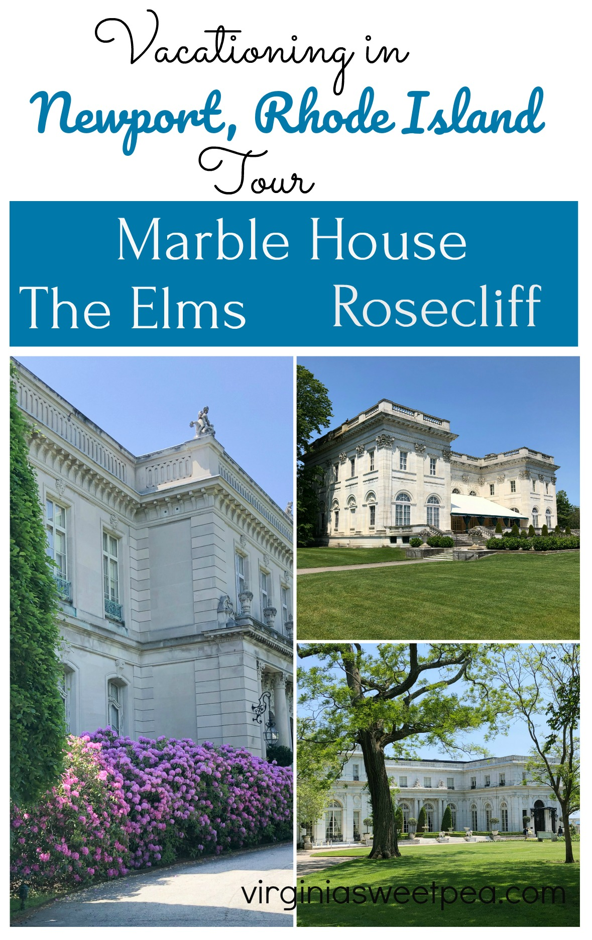 Vacationing in Newport, Rhode Island - Tour Marble House, Rosecliff, and The Elms via @spaula