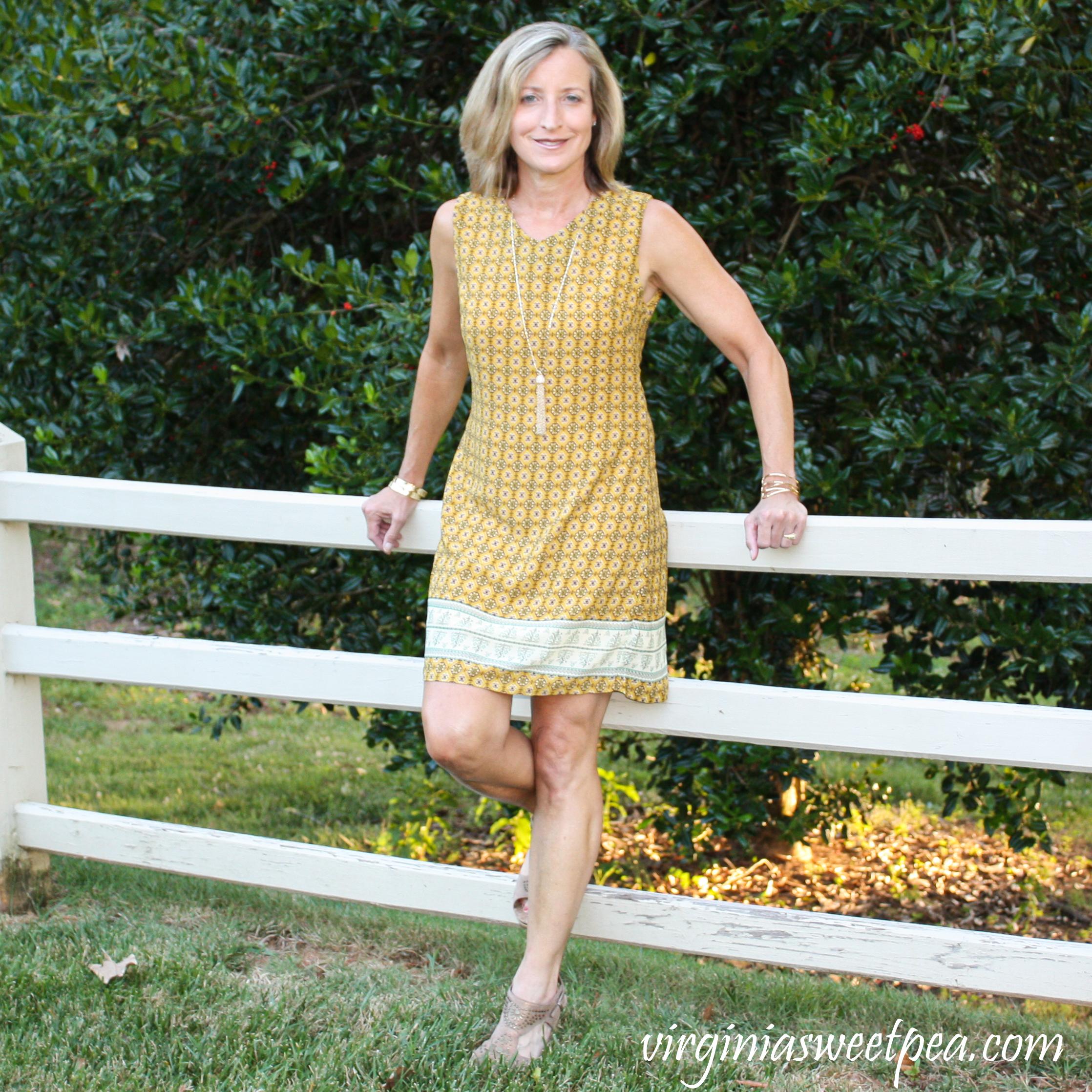 Fashom Review SM Wardrobe Aztec Print Shift Dress