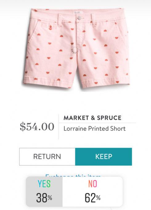 Market & Spruce Lorraine Printed Shorts