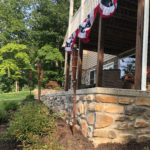 DIY Patio Stone Veneer at Smith Mountain Lake